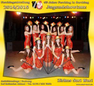 Jugendshowtanz 2015