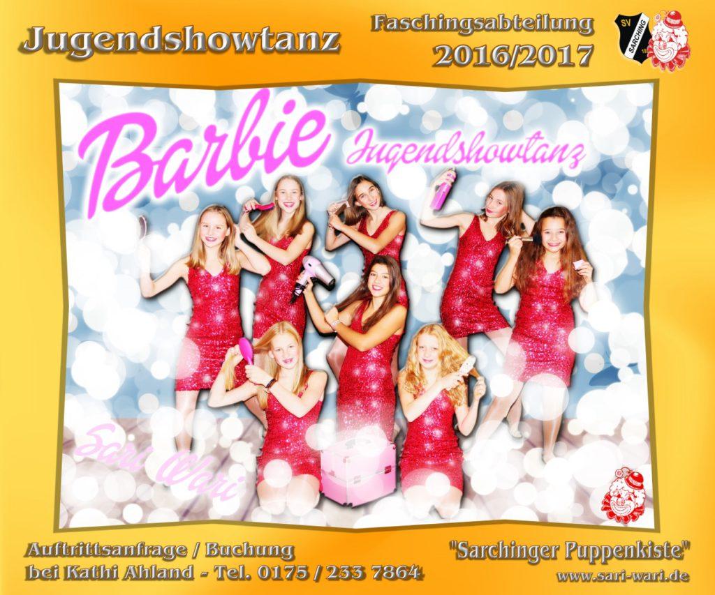 Jugendshowtanz 2016-2017