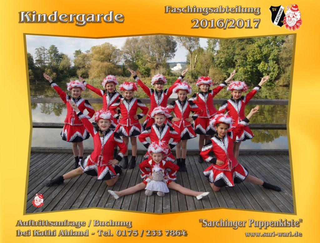 Kindergarde 2016-2017